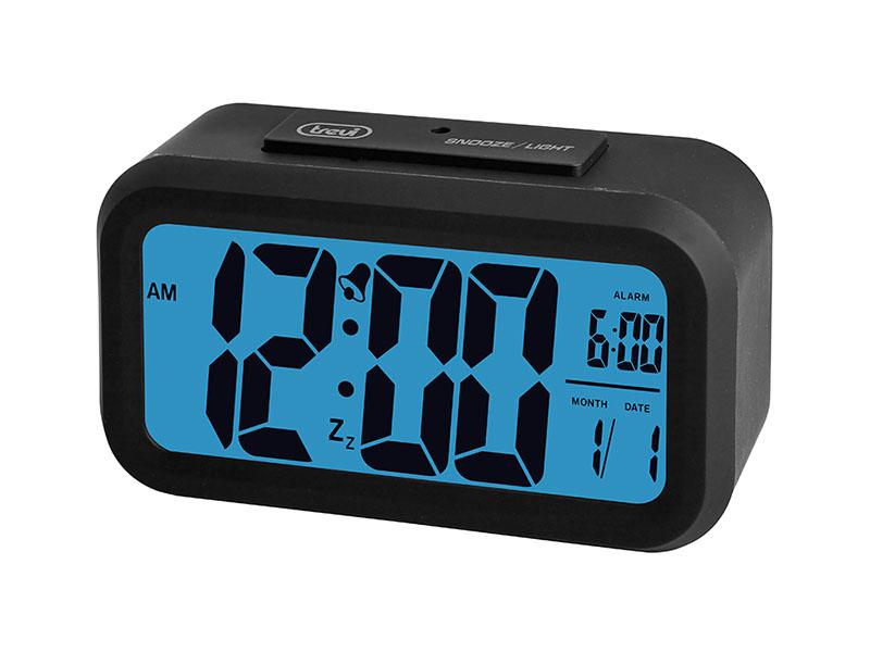 orologio digitale con sveglia trevi sld 3068 nero