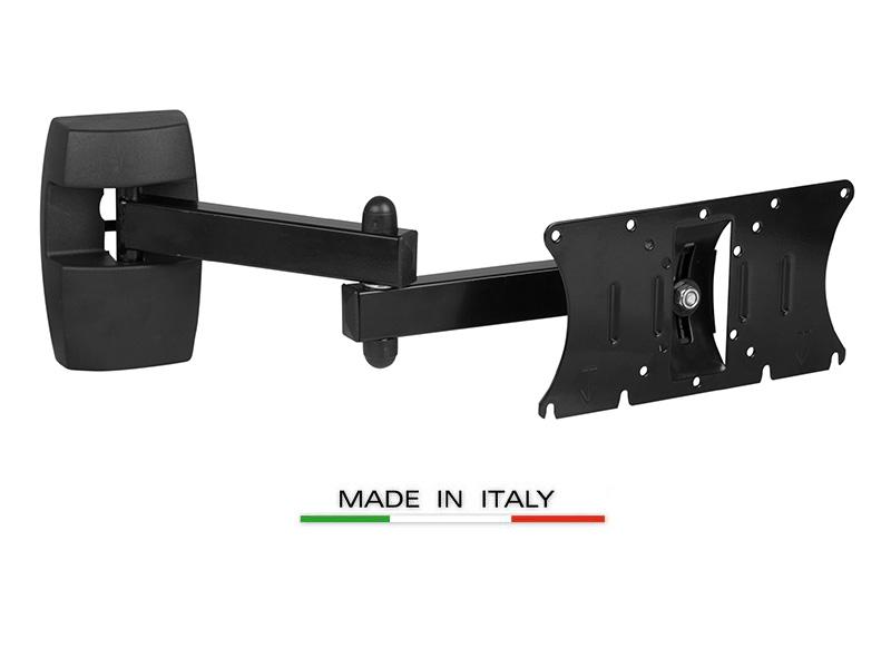 Staffa universale con doppio braccio per supporto tv lcd - Braccio mobile per tv ...