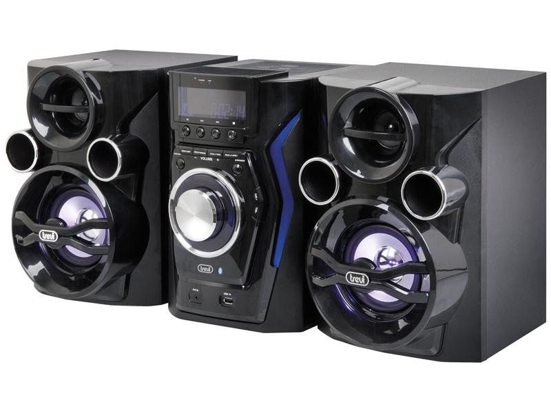 Sistema Hifi Cd Mp3 Usb Bluetooth Trevi Hcx 1200 Bt Jumbo