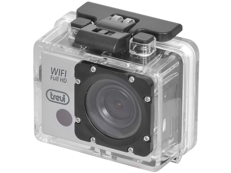 Action Camera Subacquea : Action cam wifi subacquea full hd display led trevi go kub