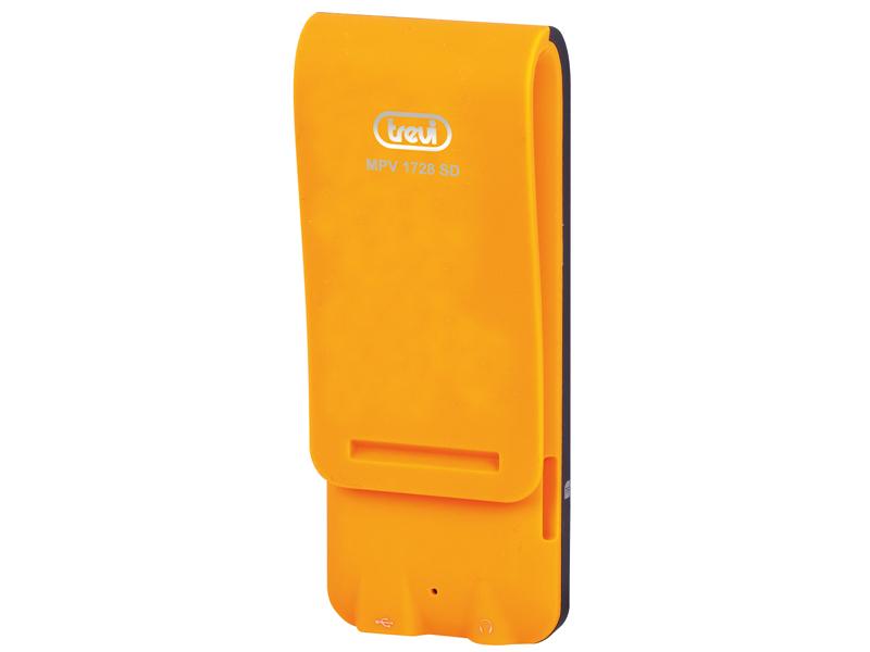 Lettore mp3 mp4 con microsd 4gb trevi mpv 1728 sd arancio - Lettore file mp4 ...