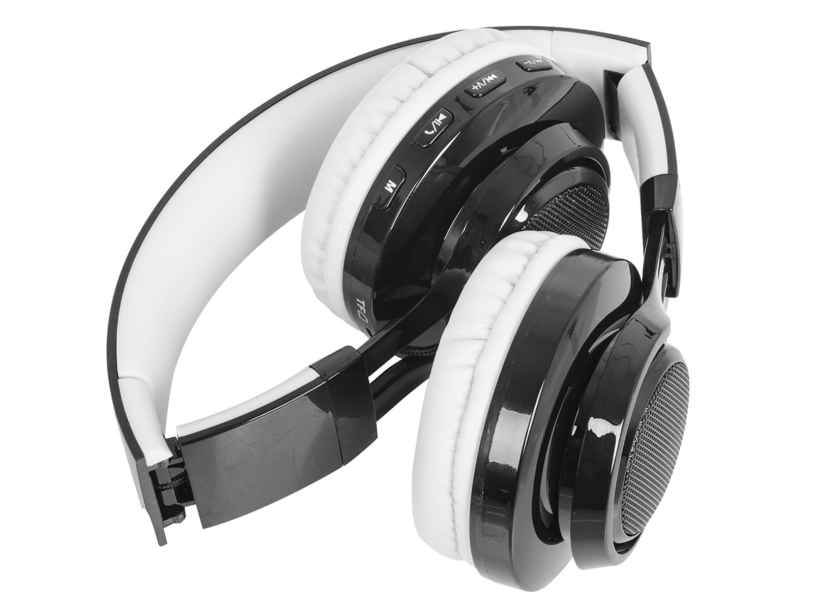 Cuffie Bluetooth con Microfono TREVI DJ 1300 BTR Bianco auricolari headset  headp e180854fab84