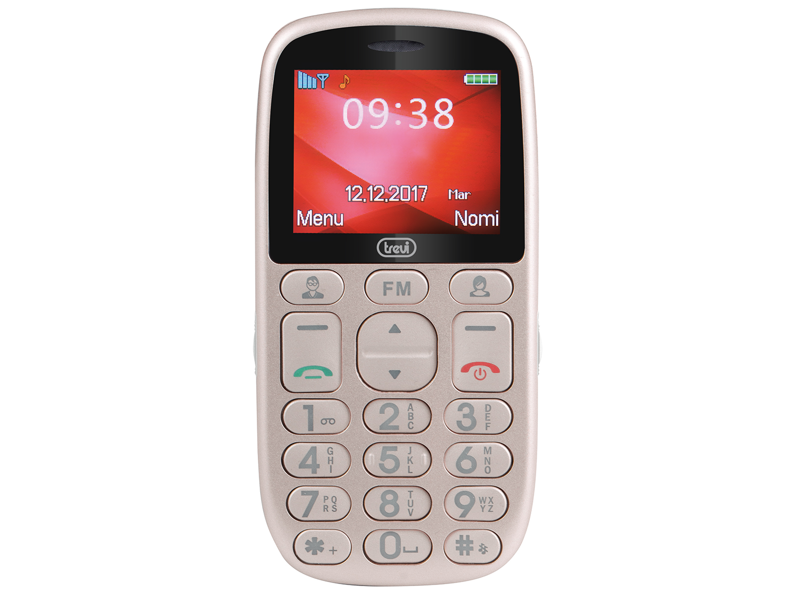 trevi relax 90  TELEFONO CELLULARE 3G FACILE CON TASTI GRANDI E TOUCHSCREEN TREVI ...