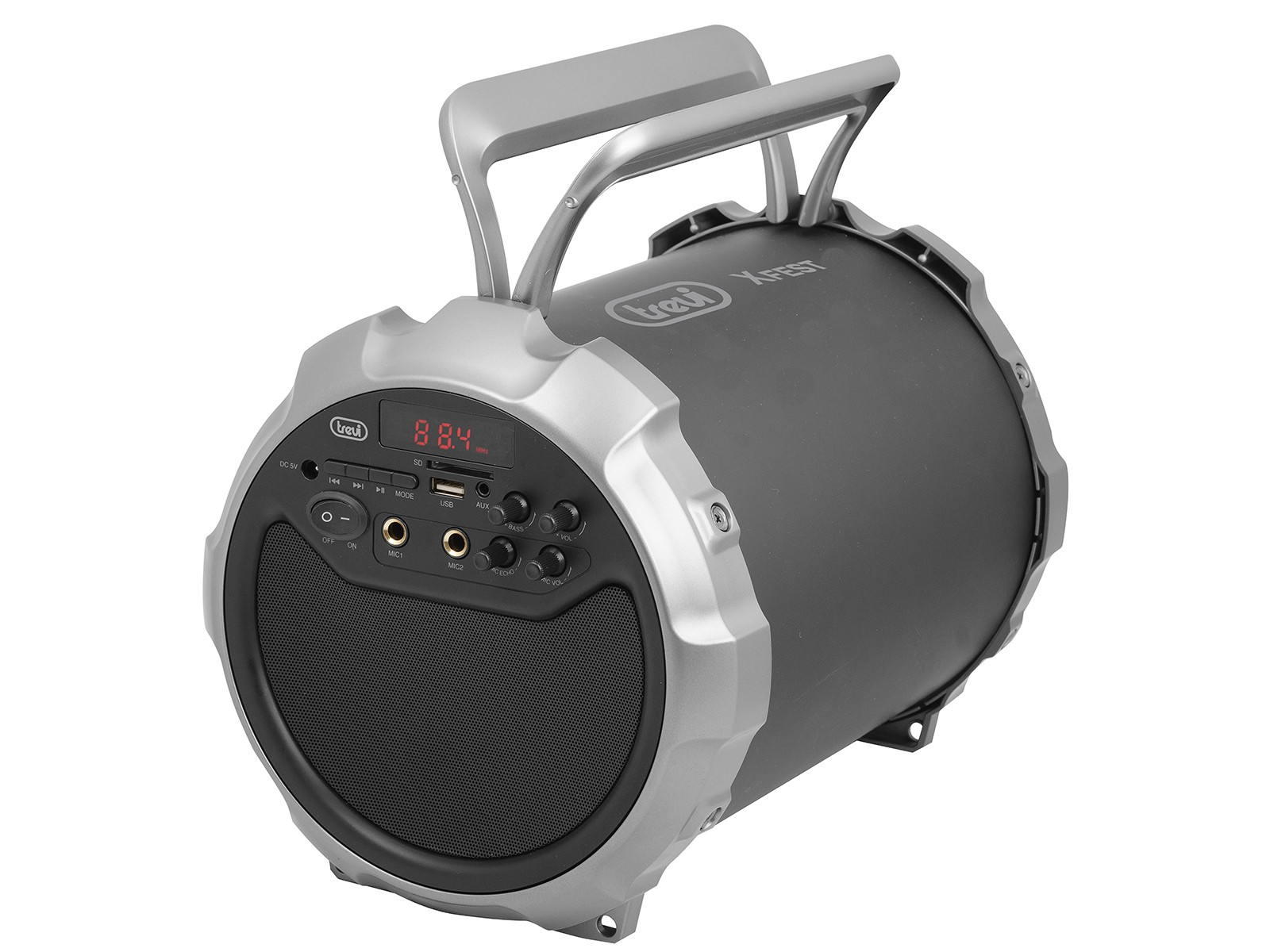 trevi xfest 450  XFEST Altoparlante Amplificato Portatile 15W TREVI XF 300 POP